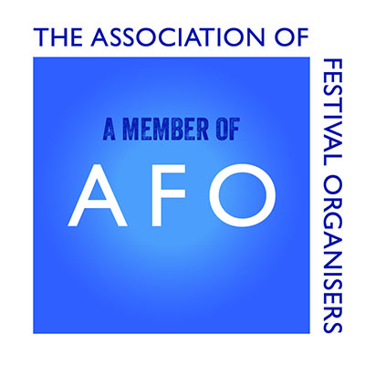 Member of AFO - The Association of Festival Organisers