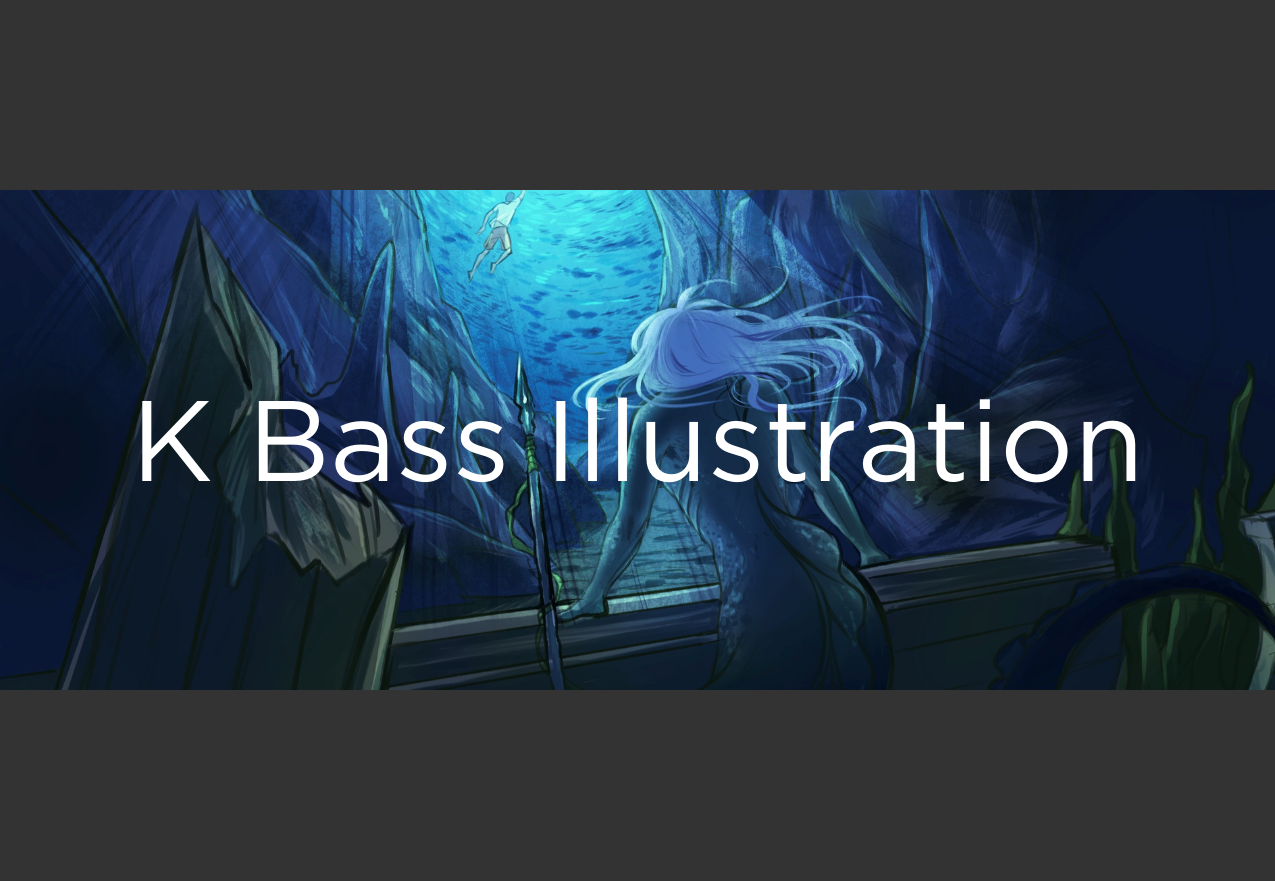 K Bass Illustration