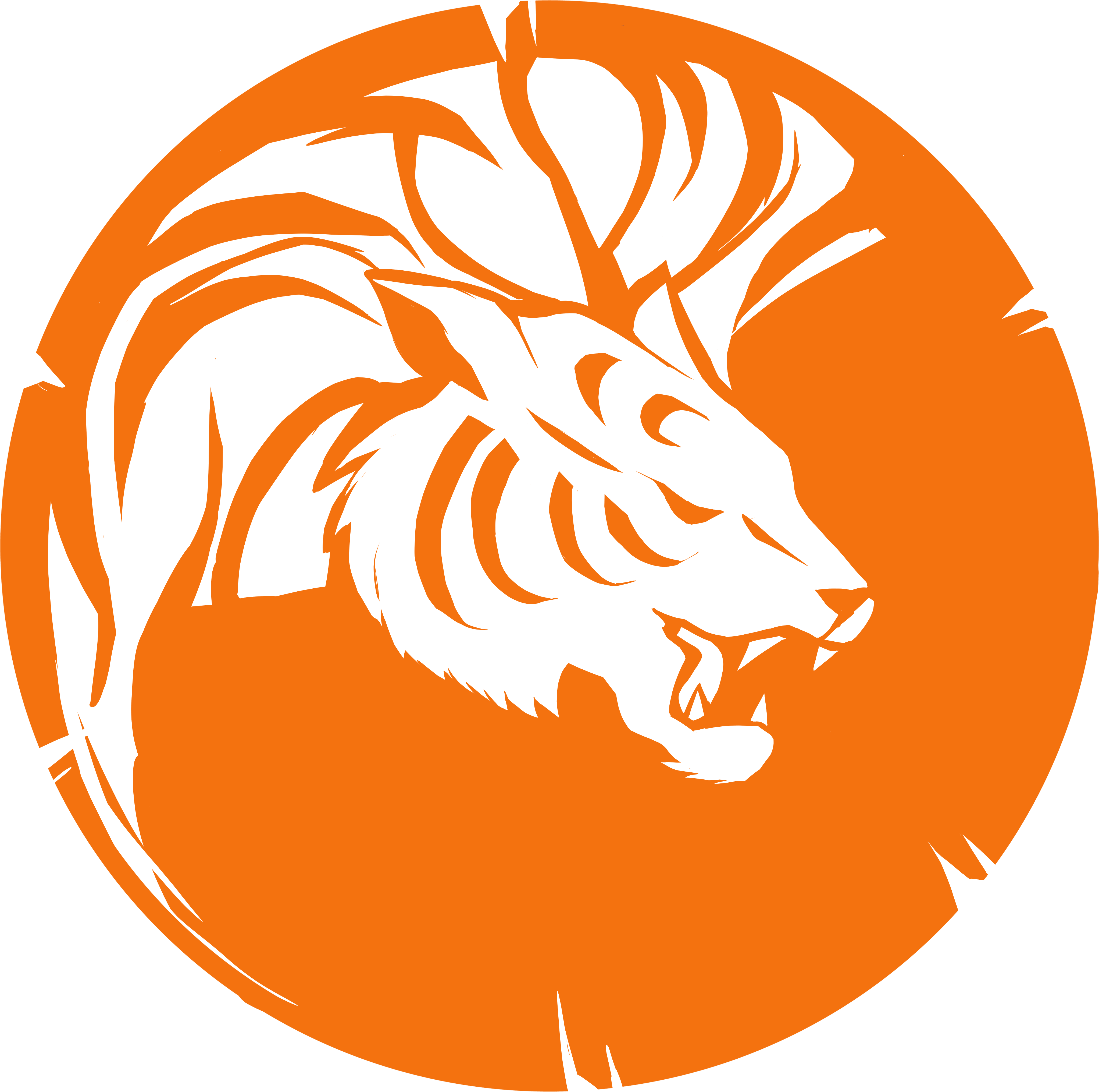 Orange Byakko Logo