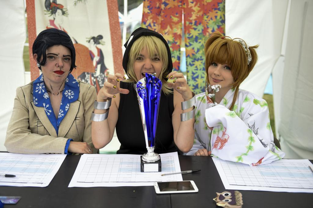 Cosplay Judges and the Cosplay Cup