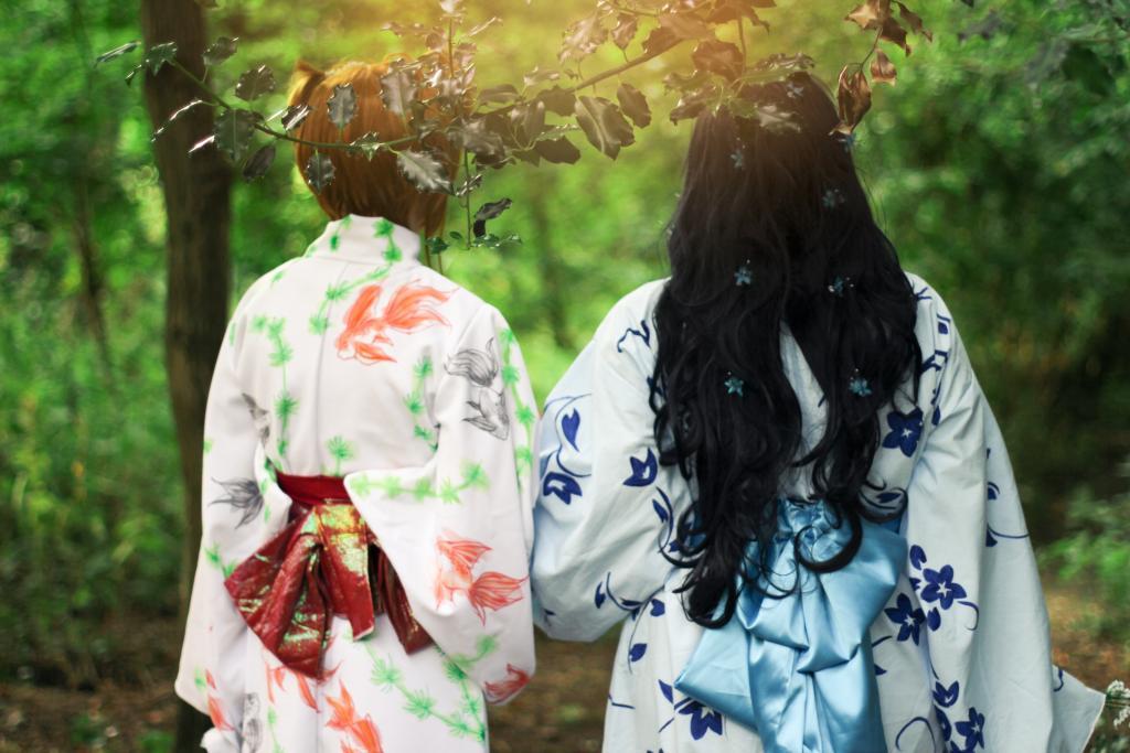 Kimono's in the Forest